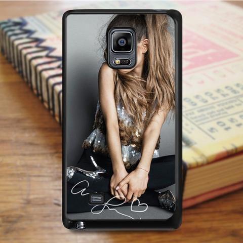 Ariana Grande Smile Cute Signature Samsung Galaxy Note Edge Case