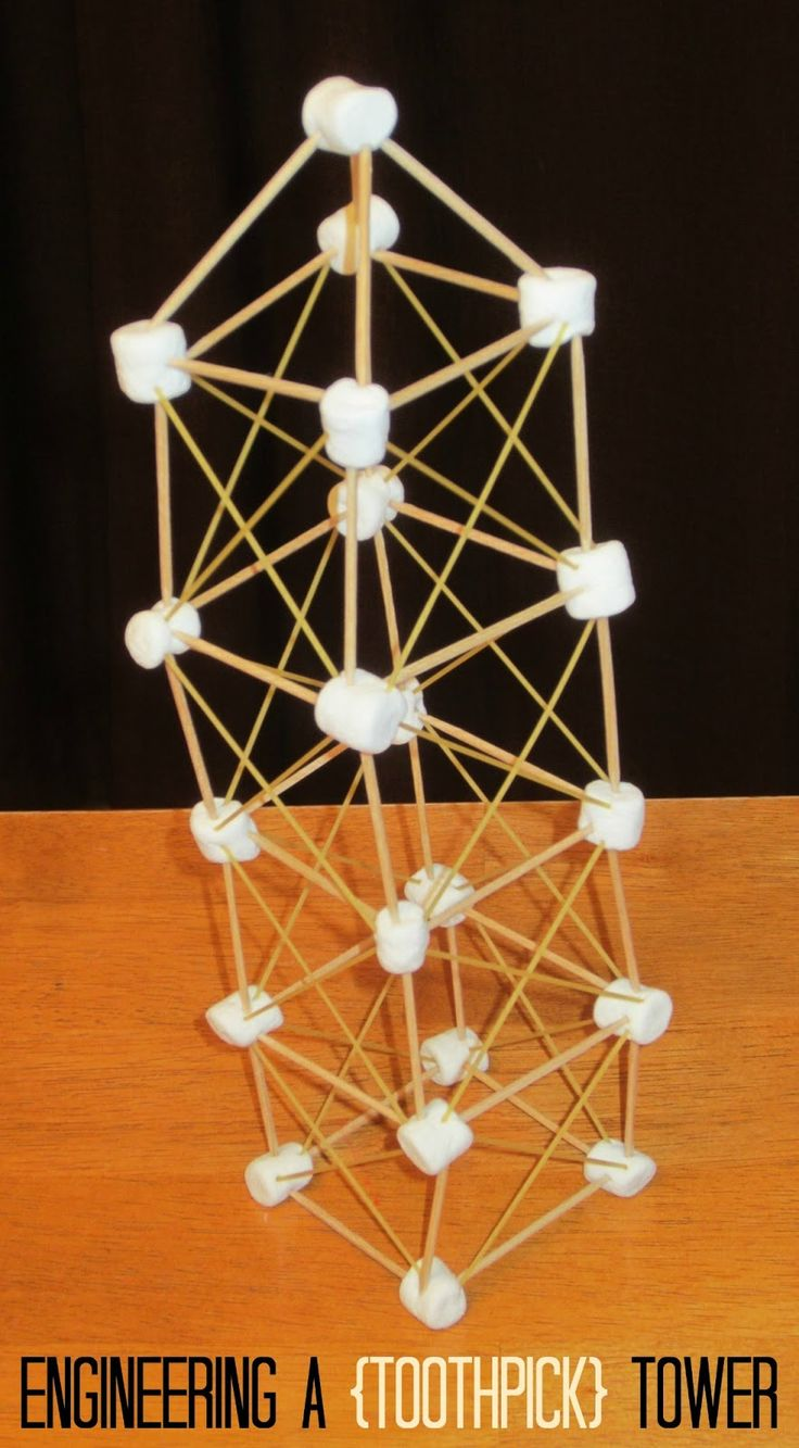 It is an image of Bewitching Building With Toothpicks and Marshmallows Printable