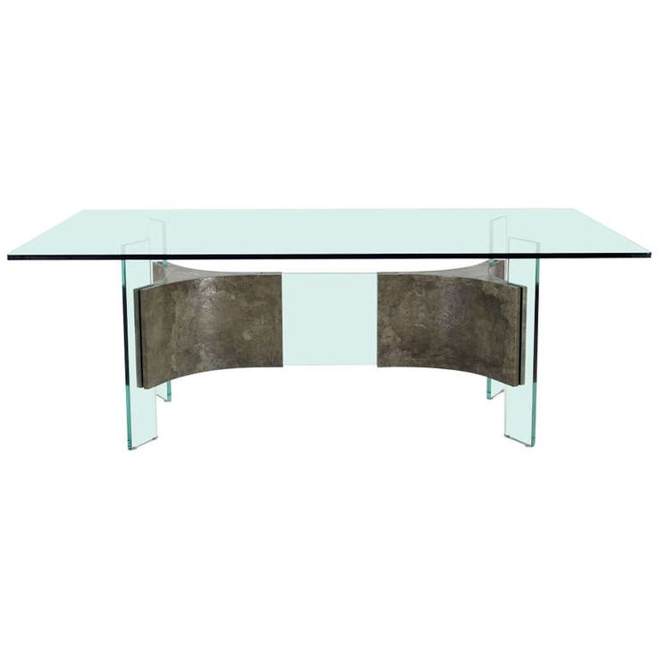 Modern Glass Dining Room Tables: 282 Best Images About Glass Dining Table On Pinterest
