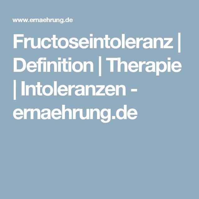 Fructoseintoleranz | Definition | Therapie | Intoleranzen - ernaehrung.de