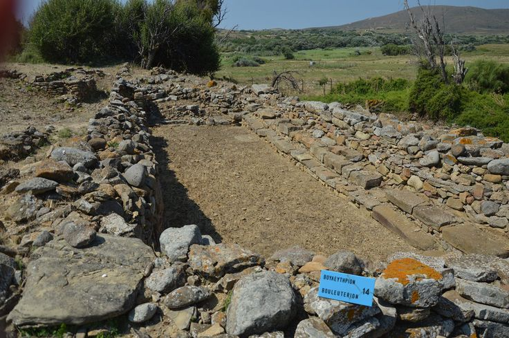 The first parliament of the world 2800 B.C. in Poliochni-Limnos, Greece