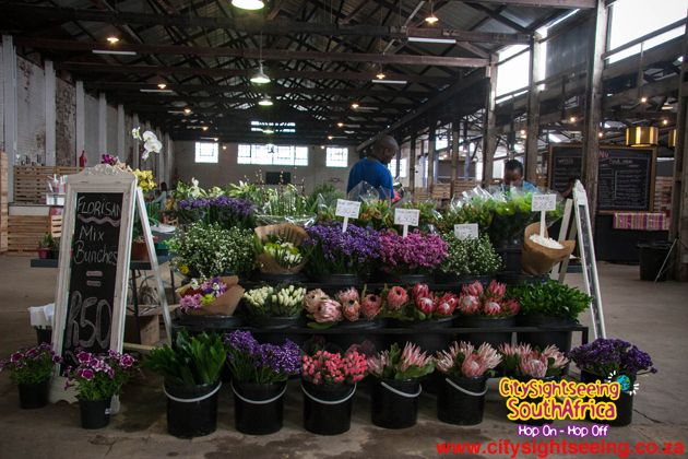 Get your fresh flowers here too!  http://citysightseeing-blog.co.za/2014/10/15/a-new-market-in-town-johannesburg/