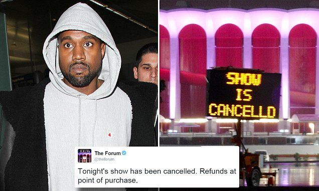 'Exhausted' Kanye West cancels 21 remaining dates of Saint Pablo Tour