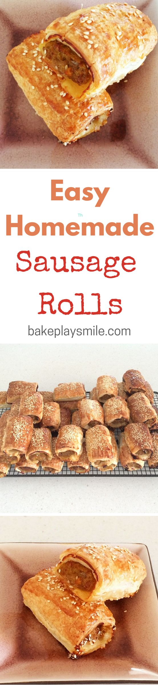 I've been making these sausage rolls for years! They're the yummiest things and…