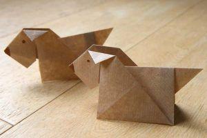 origami-chien