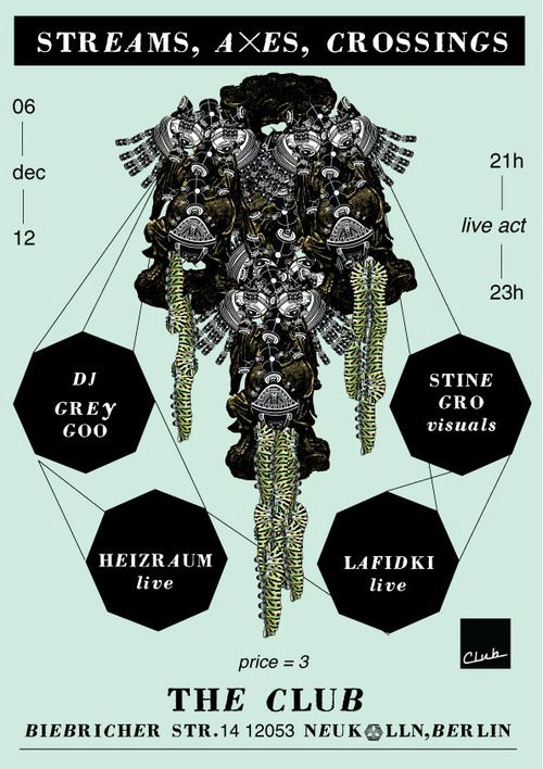 Spectacular LAFIDKI HEIZRAUM Visuals by Stine Gro Petersen Dj Grey Goo eastern european pop