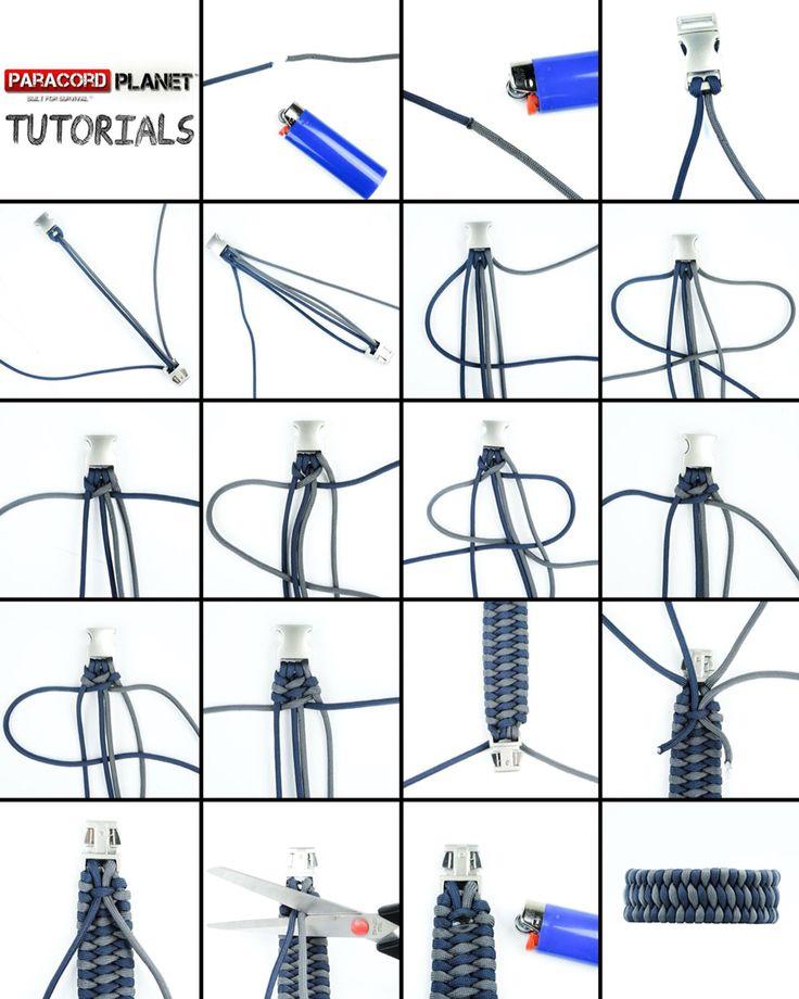 Basket Weave Paracord Bracelet Tutorial : Best images about bracelets paracord on