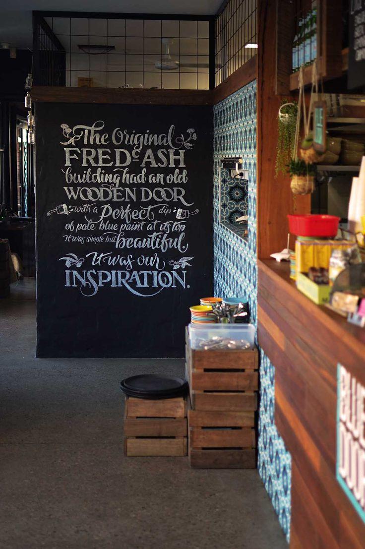 Blue Door cafe, Newcastle - by heneedsfood