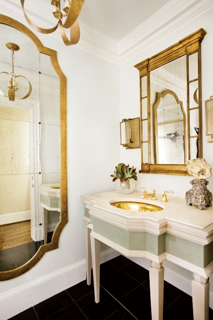 More beautifully framed mirrors
