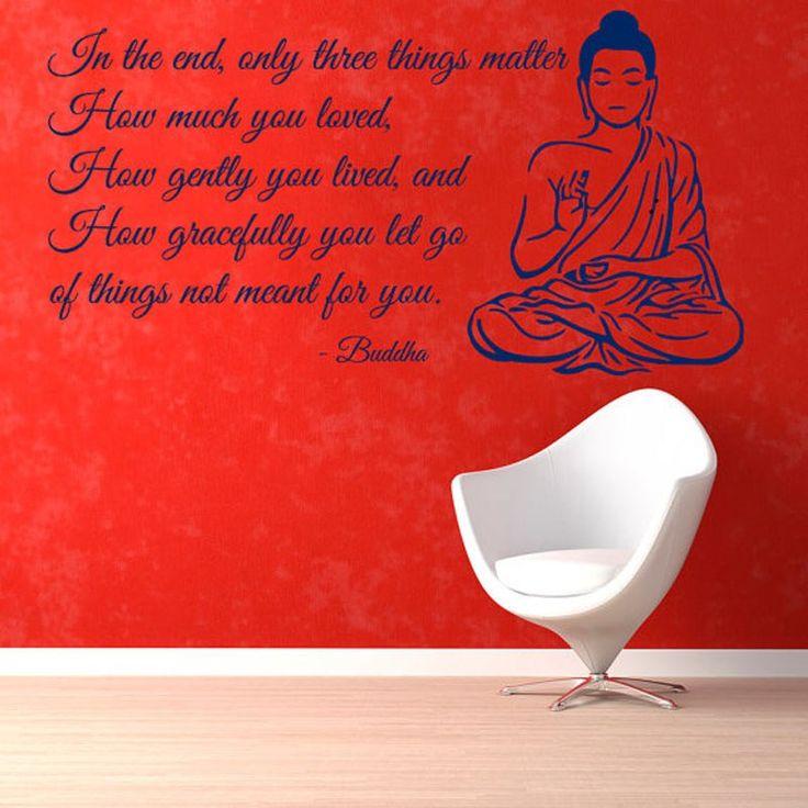 In the end... - good wallsticker which reminds there is end  #wallsticker #sticker #homedecor #decor #dekor #stickerquote #quote #falmatrica #matrica #idézet #pozitivgondolkodas #motiváció #buddha #dekoracio