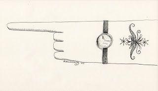 Robert Romanowicz illustration: mustache tattoo