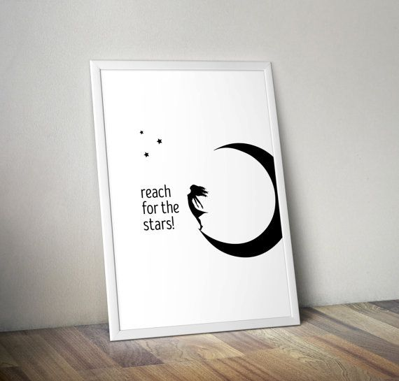 Reach for the stars quotes motivational quotes by OrangeKiteLabs