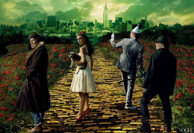Wizard of OzEmeralds Cities, Fairyte Photoshoot, Disney Dreams, Annieleibovitz, Annie Leibovitz, Yellow Bricks Roads, Wizards Of Oz, Time Vogue Us 的童话时刻 Fashiond, Fairies Tales