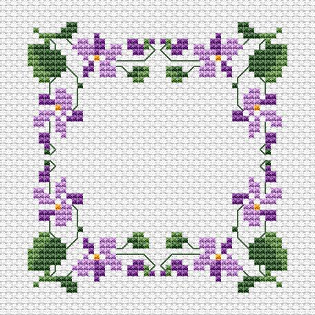 Violets Border