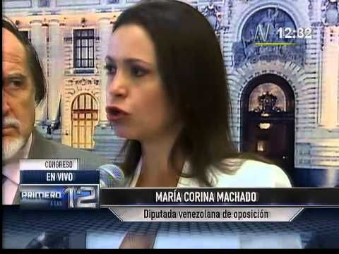 "CanalN: María Corina Machado asegura que Maduro quiere ""silenciarla"" (+l..."