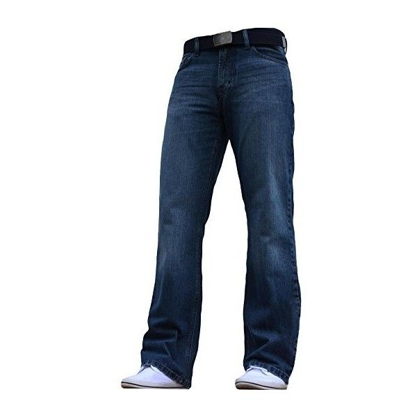 BNWT Men's Wide Leg Bootcut Flared Blue Heavy Denim Jeans (570 UAH) ❤ liked on Polyvore featuring men's fashion, men's clothing, men's jeans, mens boot cut jeans, mens wide leg jeans, mens flared jeans, mens bootcut jeans and mens flare jeans
