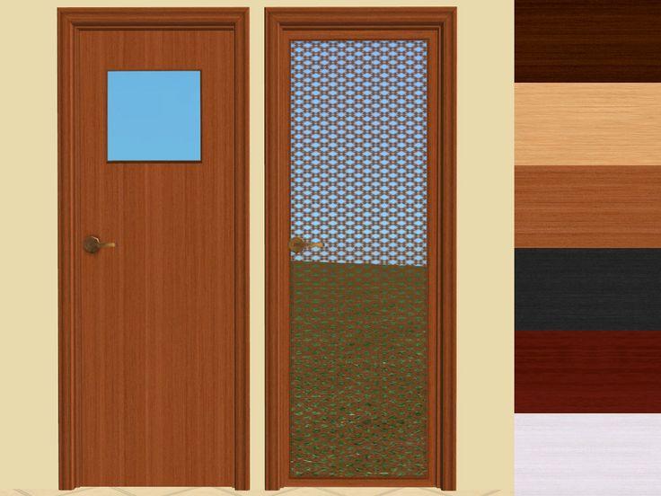 "Mod The Sims - ValueWood Lumber's ""Justa Door"" Recolours"