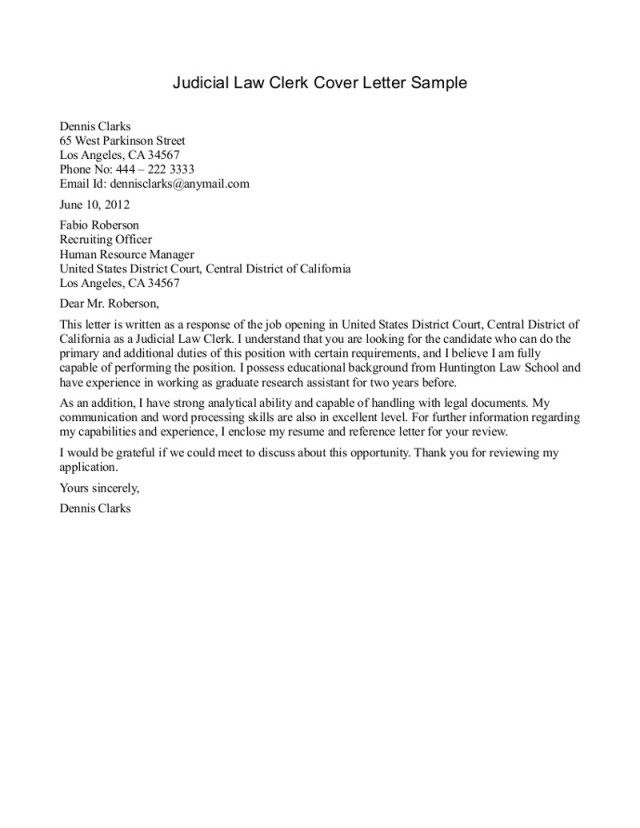 26+ Cover Letter For Legal Assistant . Cover Letter For Legal ...