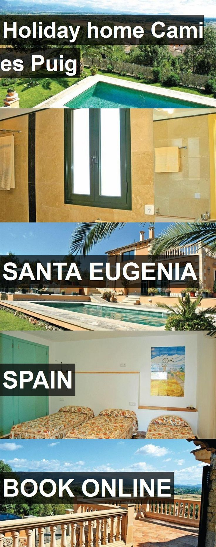 Hotel Holiday home Cami es Puig in Santa Eugenia, Spain. For more information, photos, reviews and best prices please follow the link. #Spain #SantaEugenia #travel #vacation #hotel