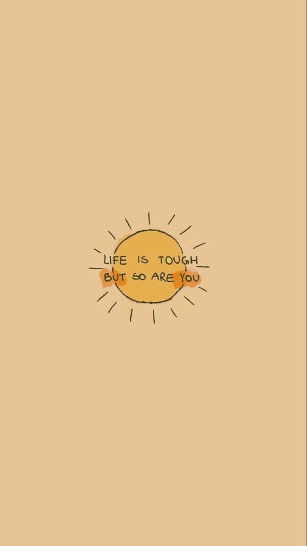 Motivational Sun Yellow Aesthetic Pastel Positive Wallpapers Wallpaper Quotes