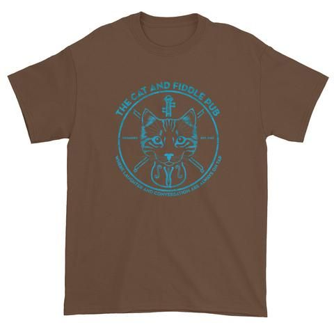 The Cat and Fiddle Pub Shirt - White
