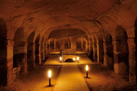 The hidden Jewels of Le Marche: The caves of Camerano