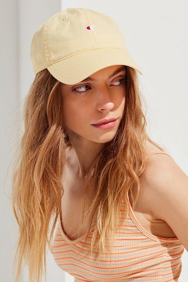 821755e306333 Slide View  1  Champion   UO Washed Twill Baseball Hat