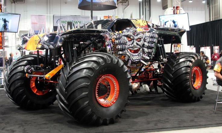 Spectra Chrome Max-D Monster Truck - perfect for DC ...