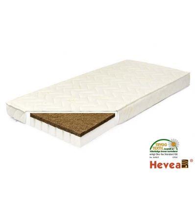 En ekologisk madrass till spjälsängen. I genomsnitt sover nyfödda bebisar 16 timmar om dygnet. Köp en bekväm madrass med kokosskiva och naturlig latex.