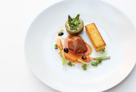 Estofado de cordero lechal con verduras y polenta | Corazón de Melón Magazine