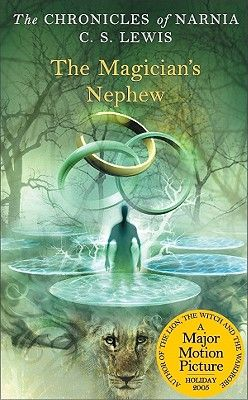 Narnia book 6. Beginning in Victorian London, two children named Polly and Digory - whose Uncle Andrew is a magician - meet a Queen during their travels who wants magic for power. They are present at the creation of Narnia, when Aslan gives the gift of speech to the animals.