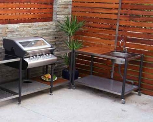 Simple Outdoor Kitchens