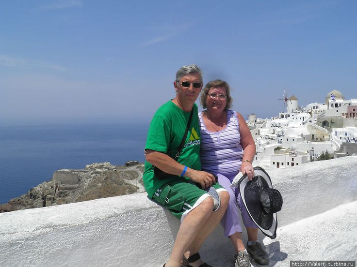 This couple got married in Oia in 1986 and decided to renew their vows.  Oia village, Santorini island, Greece. - www.oiamansion.com