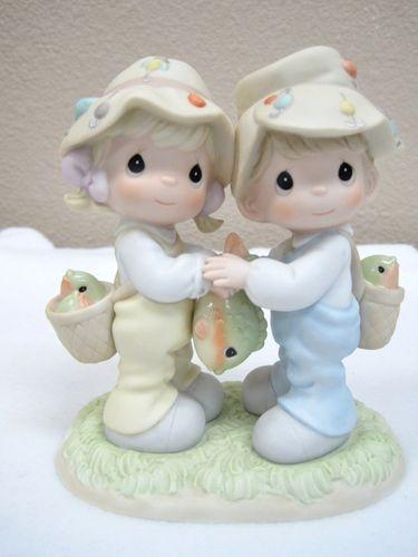 "Precious Moments ""O Fish Aly Friends for A Lifetime"" 795305 Enesco Mint No Box | eBay"