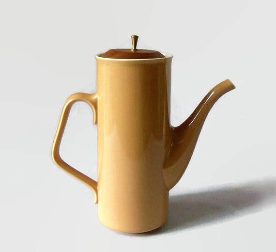 Mid Century Modern Coffee Pot Taylor Smith Taylor Ceramic