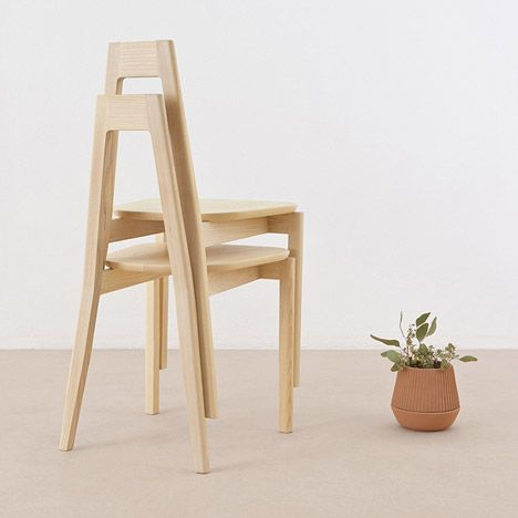 Canadian design firm MSDS Studio is launching a collection of wooden furniture and metal lighting in the Greenhouse area of Stockholm Furniture Fair today.