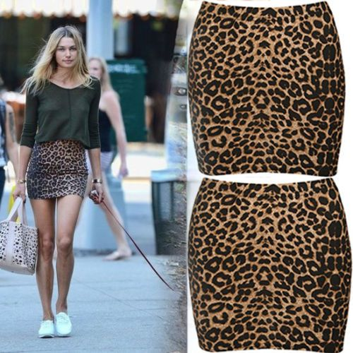 "Teketkom - Buy ""Sexy Women Animal Leopard Print Skirt Bodycon Mini Short Skirt 2016"" for only 1.97 USD."