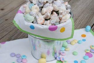 White Trash Candy: White Chocolates, Chocolates Chips, Candy Recipe, Chocolates Candy, Easter Bunnies, Trash Candy, White Trash, Pretzels Sticks, Easter Treats