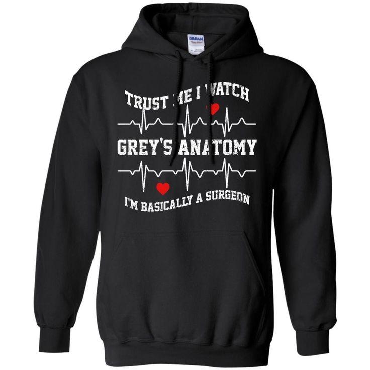 Trust Me I Watch Greys Anatomy