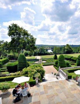 The Danesfield House's stunning grounds, Henley-On-Thames, UK