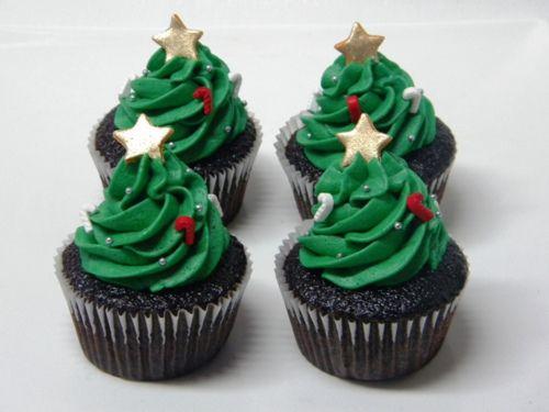 christmas cupcakesChristmas Trees Cupcakes, Xmas Trees, Food, Cups Cake, Christmascupcakes, Christmas Cake, Christmas Cupcakes, Cupcakes Rosa-Choqu, Cupcakes Trees