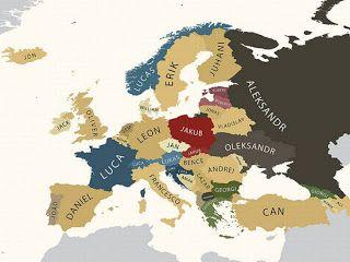 Αυτά είναι τα πιο δημοφιλή ονόματα στην Ευρώπη