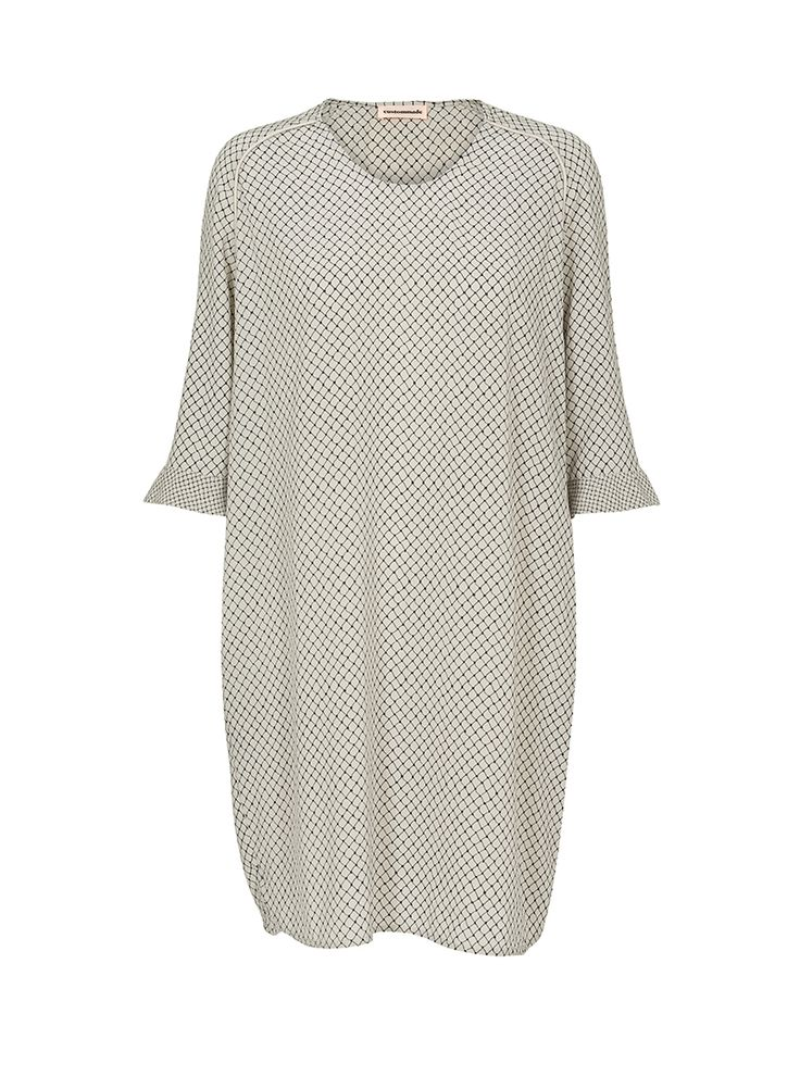 Alette Stretch-Silk Dress | Custommade.dk