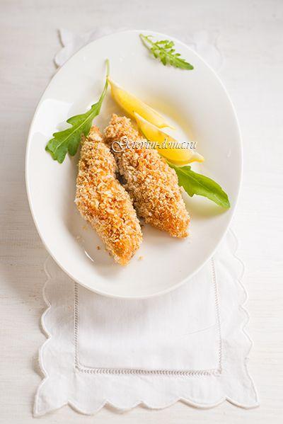 Рецепт: Филе лосося в панировке (от Джейми Оливера)