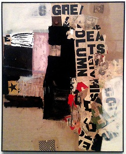 The Robert Rauschenberg Foundation on Tumblr • Robert Rauschenberg, Small Rebus, 1956. Oil,...Wilson Antonio