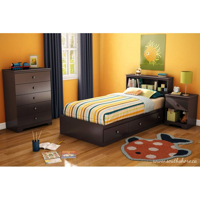 You'll love the Zach Twin Platform Customizable Bedroom Set at Wayfair - Great Deals on all Baby & Kids  products with Free Shipping on most stuff, even the big stuff.