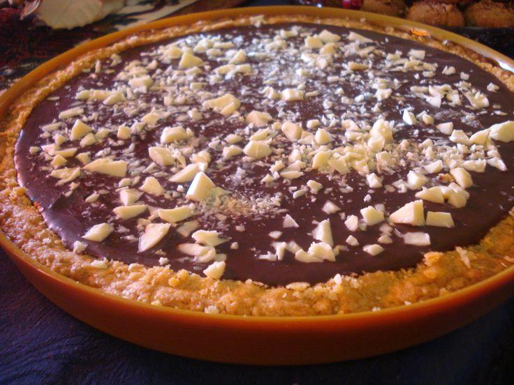 τάρτα σοκολάτα ..... @pezoula_paros
