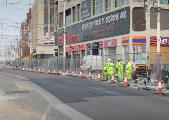 Part Of Blackpool Promenade Is To Be Closed To Traffic Again From Monday To Enable Further