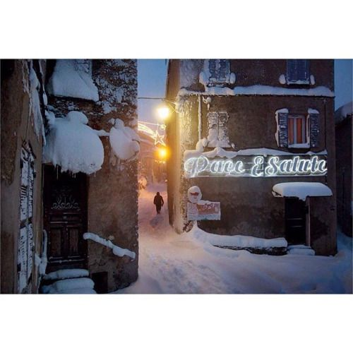 Christophe Jacrot (@christophe.jacrot) has photographed snow all over the world from the streets #Paris to those of #NYC during a blizzard. He took this picture in #Corsica Unfortunately because of global warming he says hes been having difficulty finding heavy snow in Europe even during the winter and hes found himself exploring #Greenland and #Iceland in search of subjects. // #France #landscapephotography #streetphotography #streetphotographer #photostreet #streetphoto #bluehour…