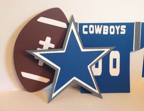 NFL/College Football Team Diecut/Cutouts for by LeslisDesigns, $15.00